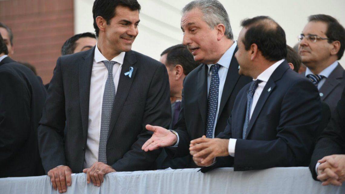 El gobernador salteño visitó Misiones y estuvo junto a su par local