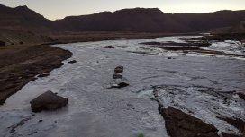 Se congeló el río Susques - Crédito:@ElTribunoJujuy
