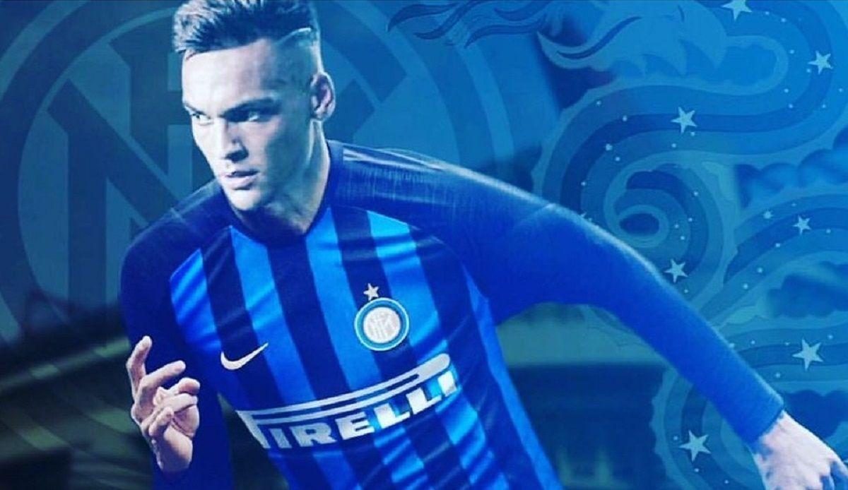 Lautaro Martínez en Inter