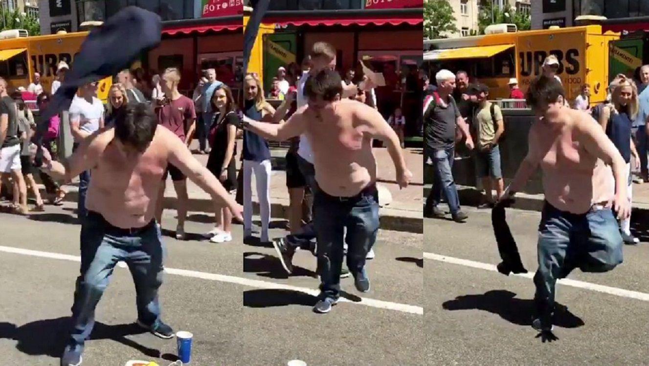 El gordo ventilador revoluciona Kiev