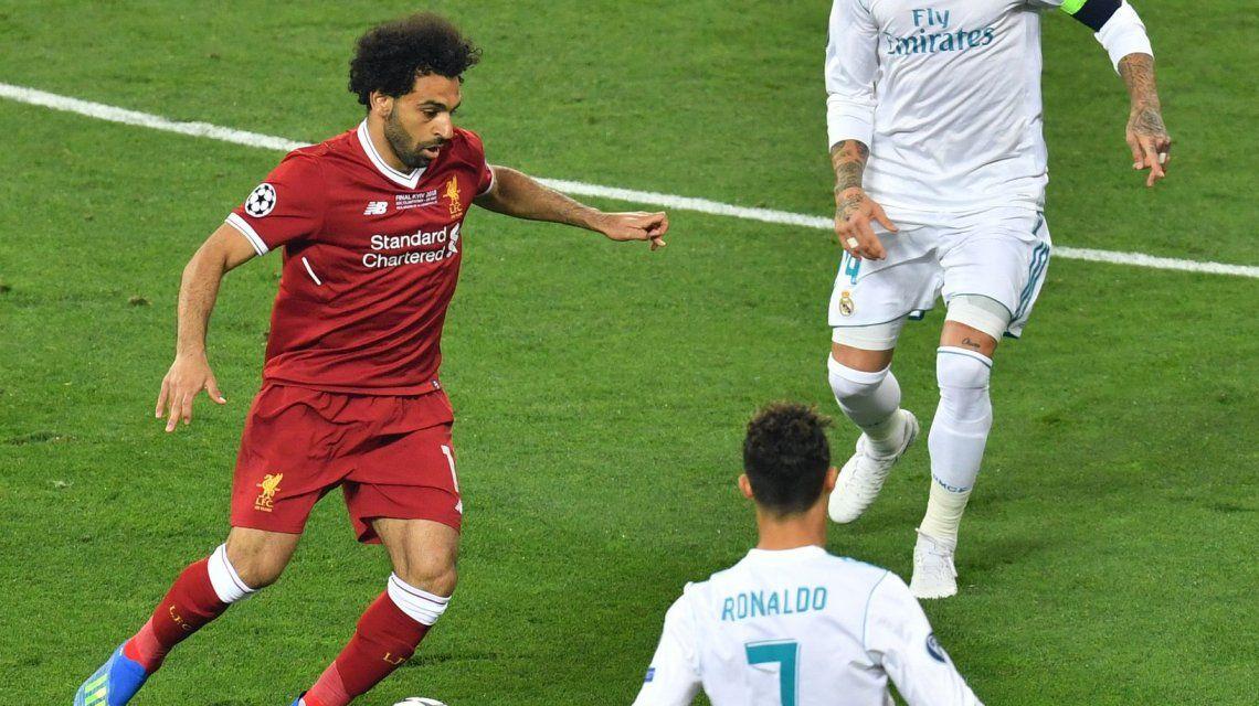 Real Madrid y Liverpool en la Champions League