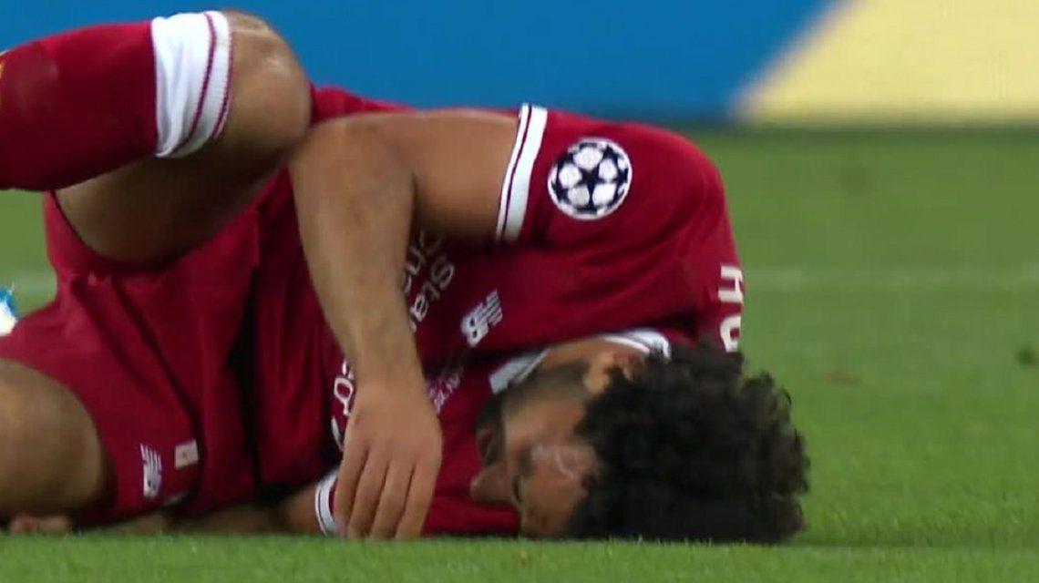 Salah tuvo que salir de la final por una lesión: ¿se pierde también el Mundial?