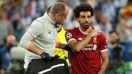Salah se fue lesionado