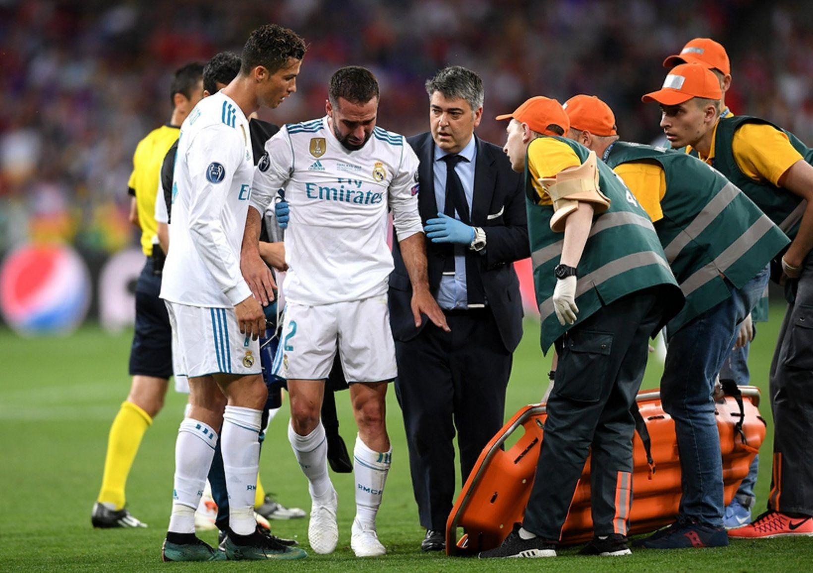 Carvajal se fue lesionado y preocupa a España de cara al Mundial