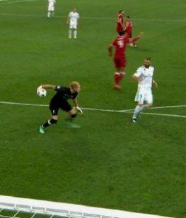VIDEO: El gol más insólito de la historia abrió la final de la Champions League