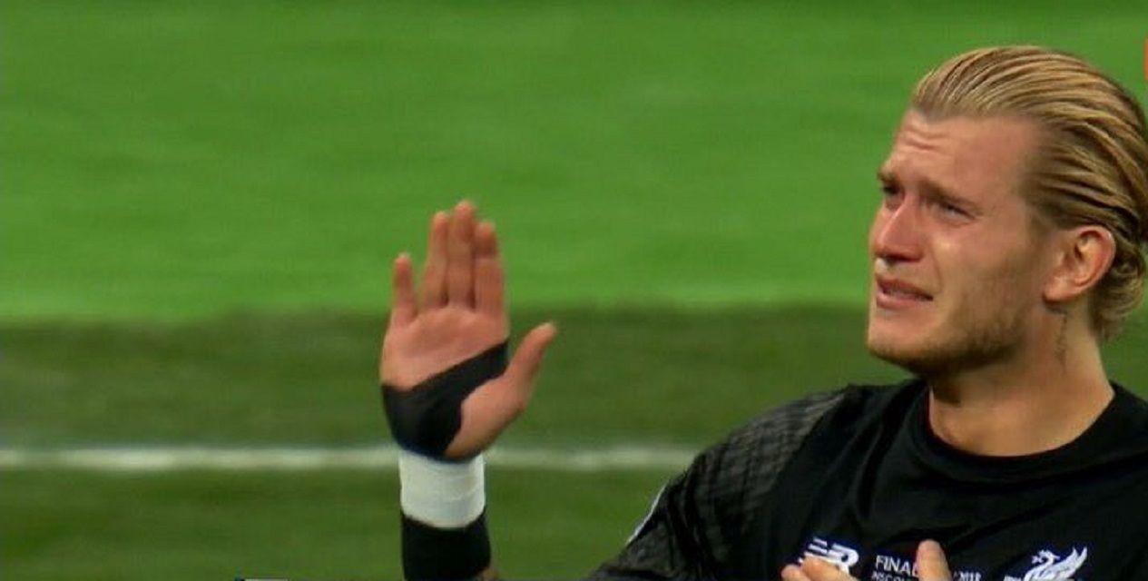Loris Karius se comió dos goles para Liverpool - Captura ESPN