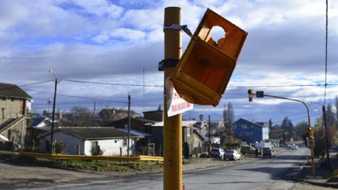 Vandalismo en Bariloche - Crédito:Chino Leiva/Río Negro