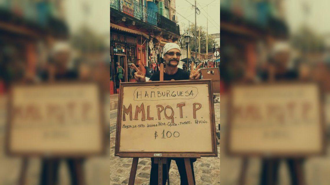 La hamburguesa MMLPQTP es una creación de Napo