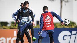 Sólo para chicos: la Selección hará hoy una práctica abierta en Huracán