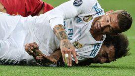 El mensaje de Sergio Ramos a Salah por su lesión en la final de la Champions League