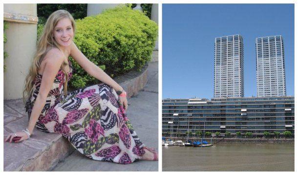 Antonella Pochettino murió en el Madero Center de Puerto Madero<br>