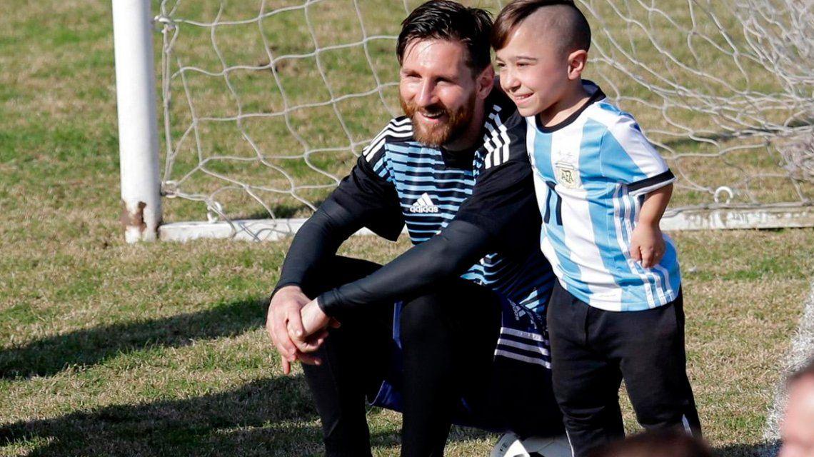 De crack a crack: el líder de la Selección de talla baja y su encuentro con Messi
