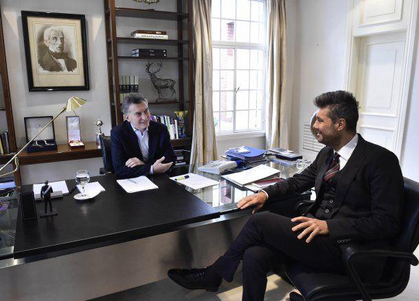 Marcelo Tinelli se reunió con Mauricio Macri<br>