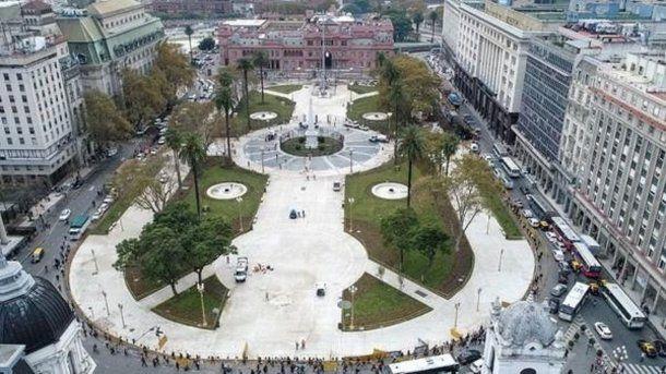 Nueva Plaza de Mayo<br>