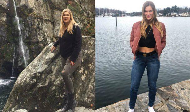 Mari cambió sus hábitos y su dieta, y el resultado fue una transformación física y mental