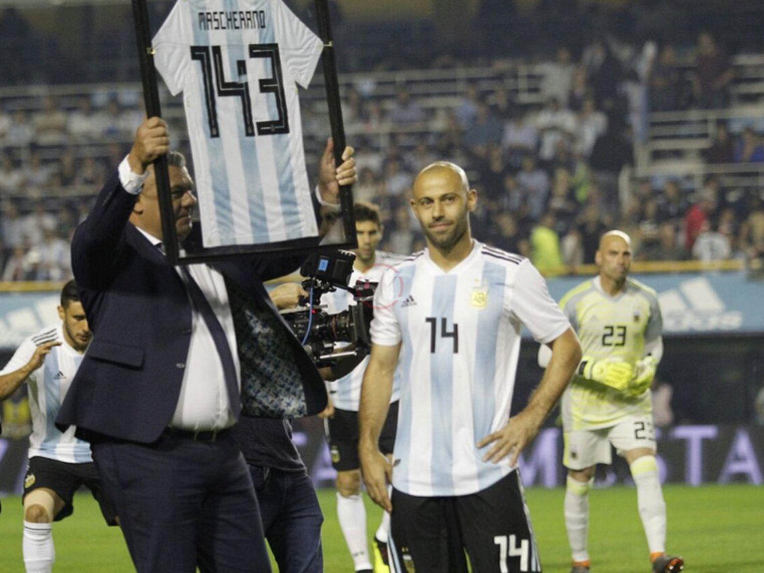 Mascherano es el jugador con más presencias en la Selección