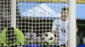Messi fue la gran figura contra Haití