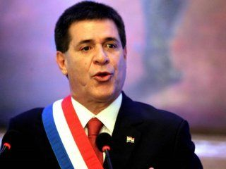 Horacio Cartes ex presidente de Paraguay.