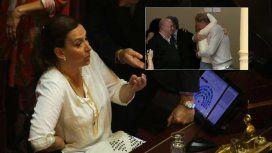 Poca sensibilidad: Michetti frenó la celebración de la familia de Justina por la media sanción de la ley