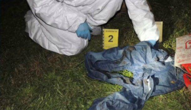 Encontraron una bolsa llena de ropa del mismo talle que el marido de la enfermera asesinada