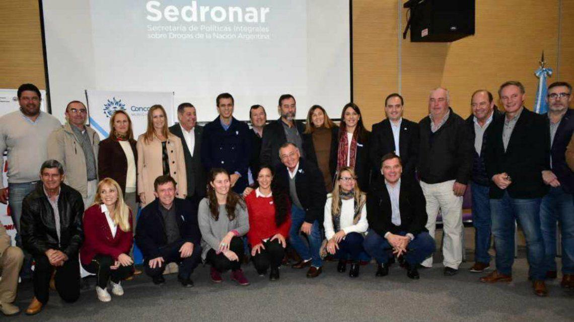 Se firmaron los convenios con el Sedronar este miércoles en Concordia