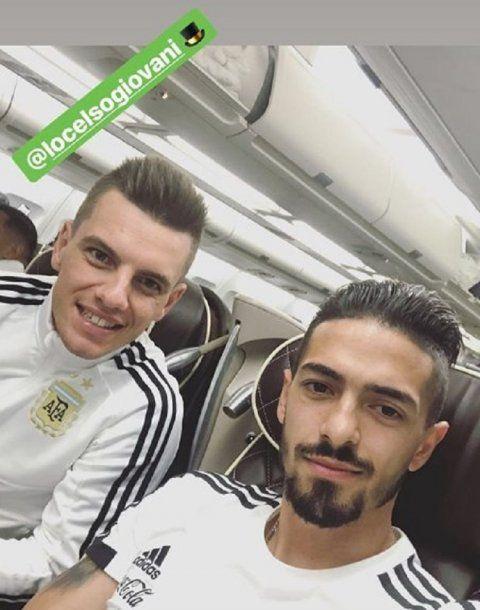 Gio Lo Celso y Manu Lanzini, la cuota de fútbol en el mediocampo<br>