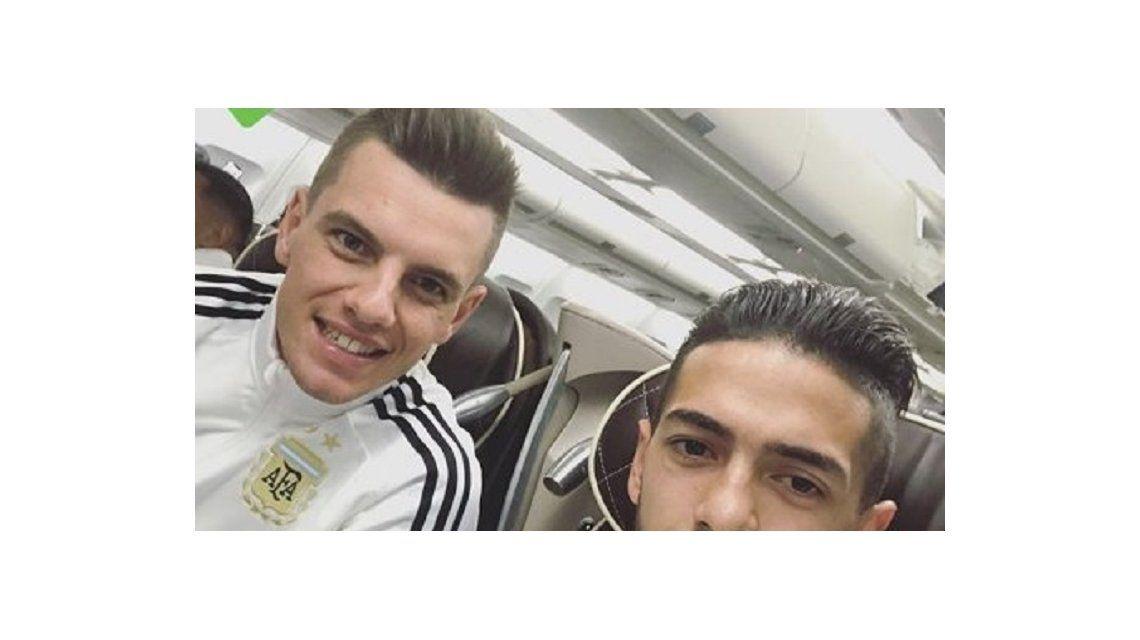Gio Lo Celso y Manu Lanzini