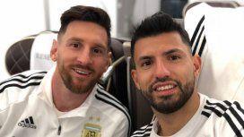 Sergio Agüero sigue, ¿Messi también?