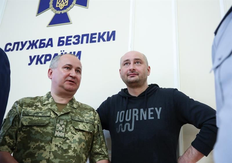 Arkadi Babchenko, el periodista ruso que resucitó en Ucrania