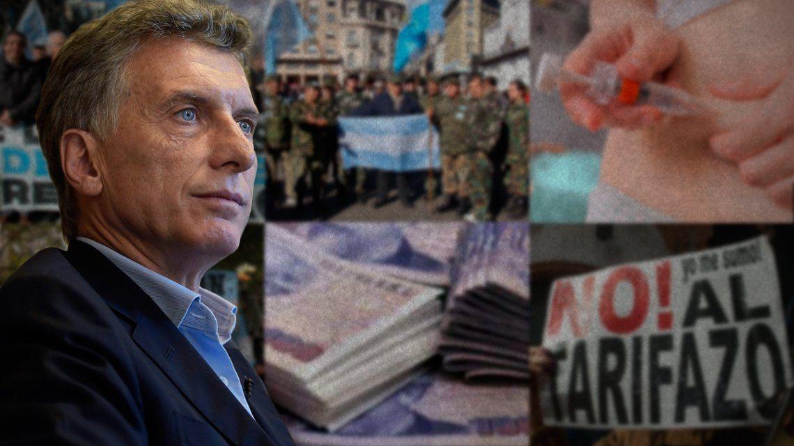 De la ley Antidespidos al Antitarifazo: los vetos impopulares de Macri como presidente
