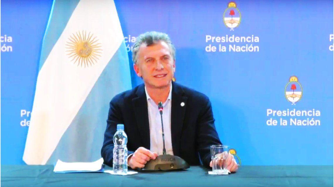 Macri, tras el veto a la ley anti tarifazo: Si se aprobaba había que suspender la AUH