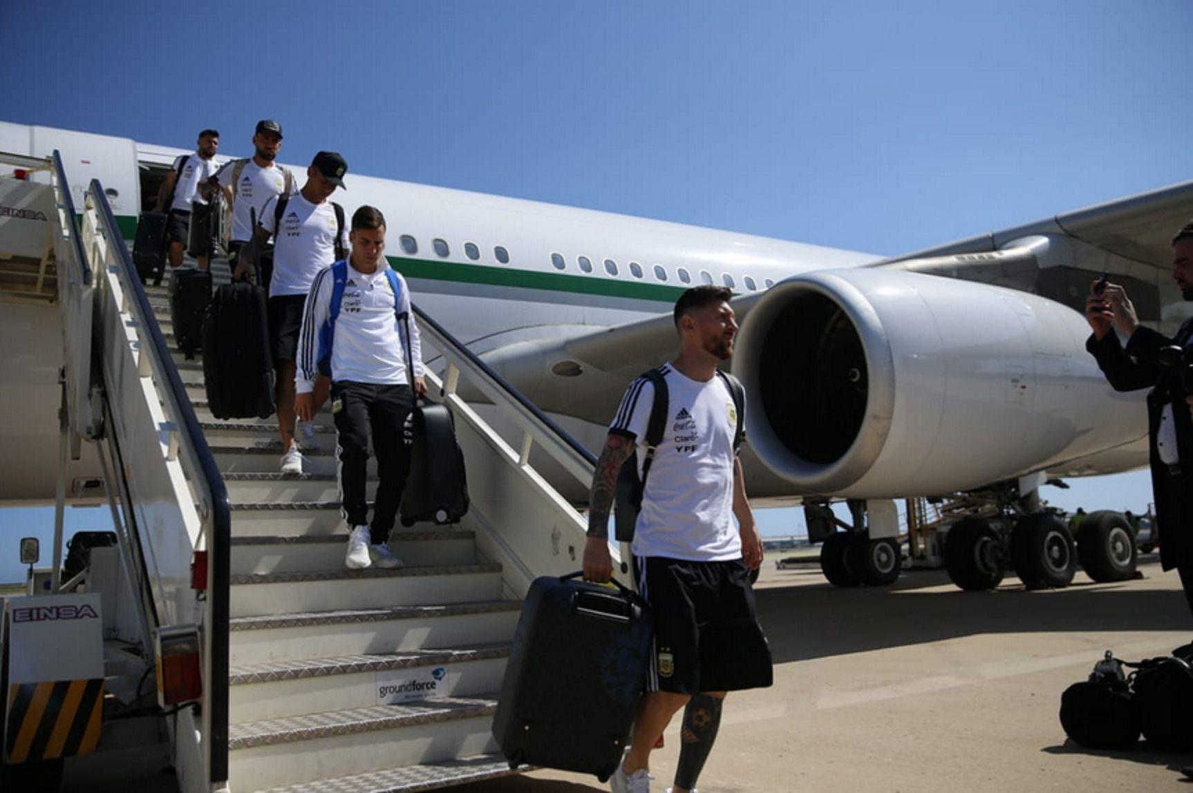 La Selección llegó a Barcelona: Ya estamos en casa, dijo Messi