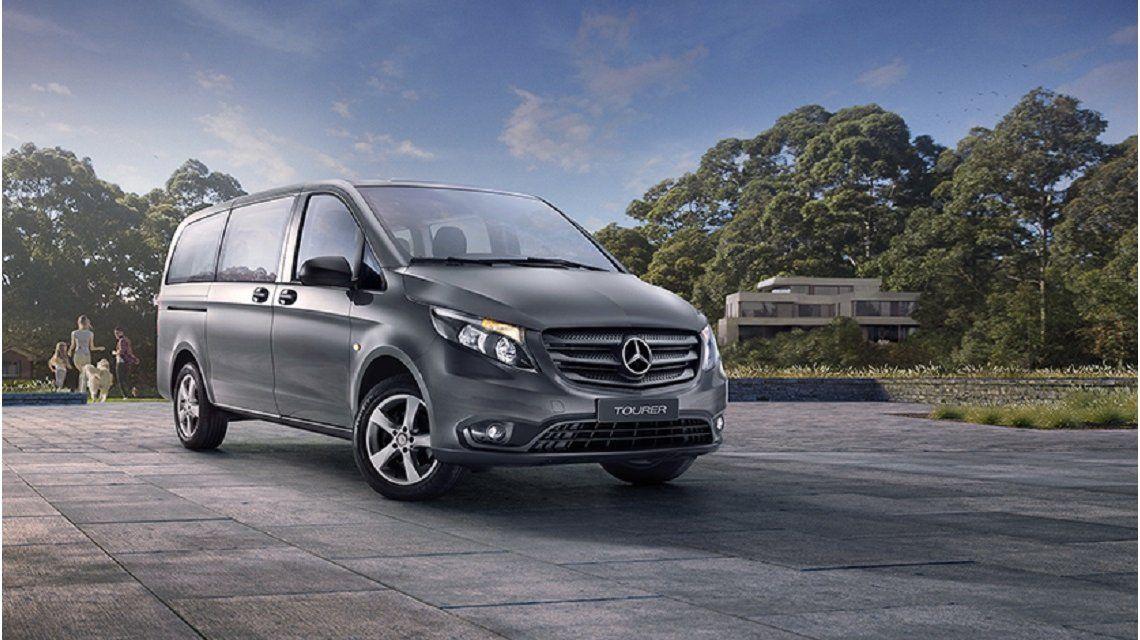 Nuevo auto blindado de Mauricio Macri - Crédito: mercedes-benz.com.ar