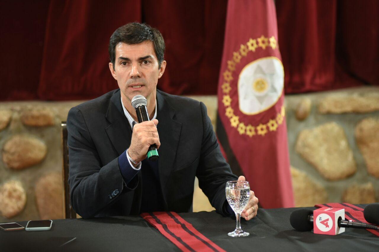 Urtubey habló en Cachi tras reunirse con Macri