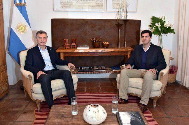 Mauricio Macri y Juan Manuel Urtubey<br>