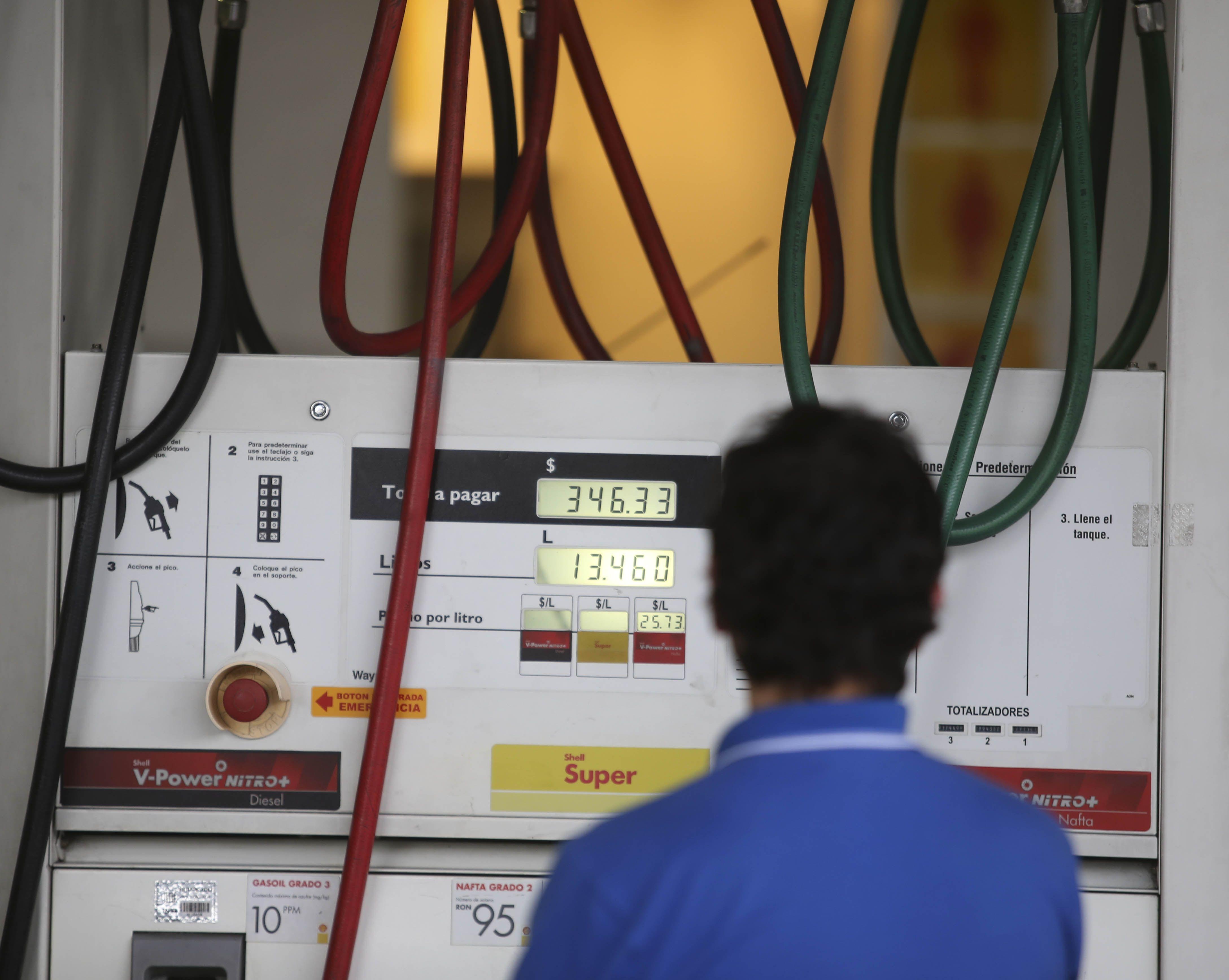 La nafta y el gasoil subirá un 1% en promedio