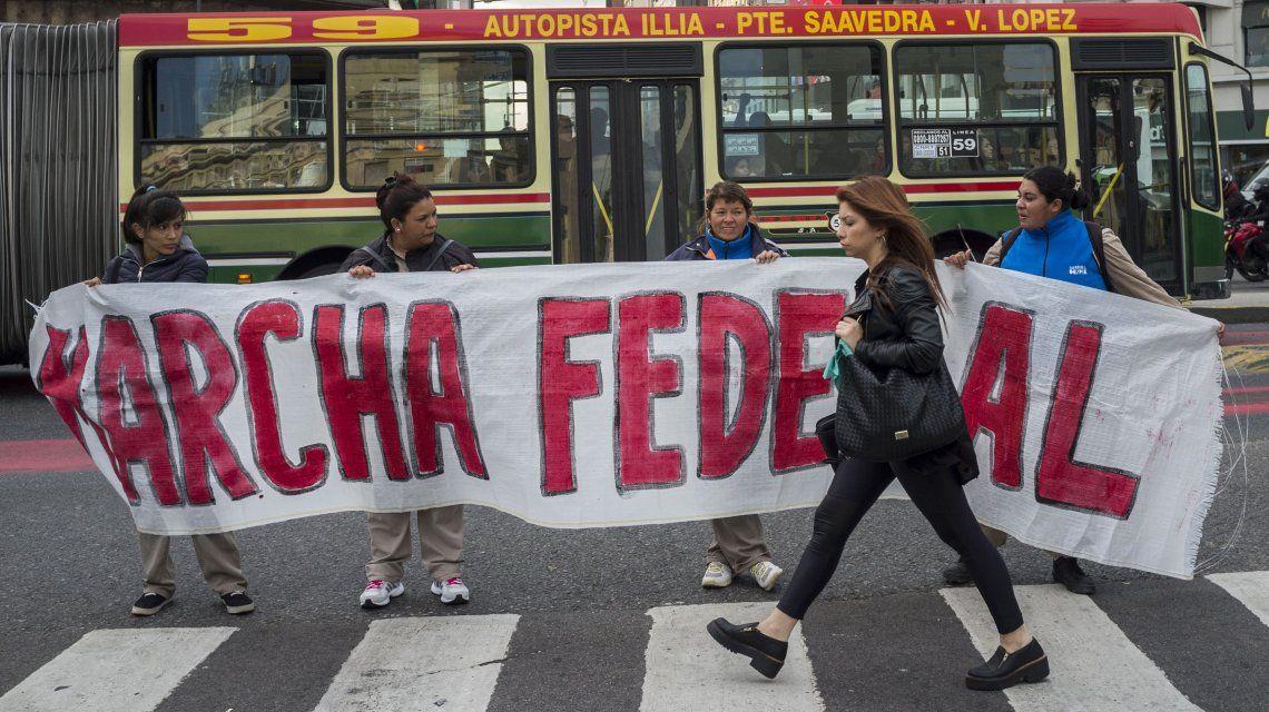 La Marcha Federal generará un caos de tránsito