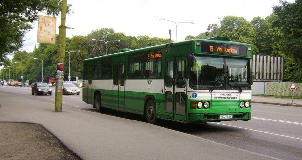 Los colectivos, el tranvía y otros medios de transporte públicos son gratis en Tallinn