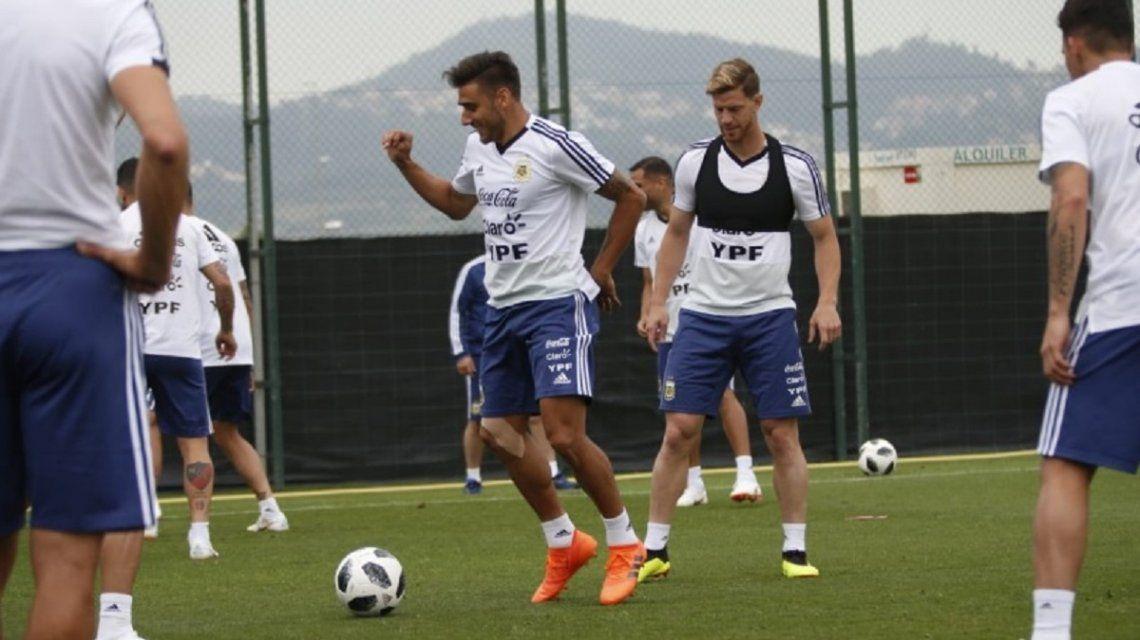 Entrenamiento de la Selección en Barcelona - Crédito:@Argentina