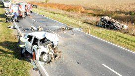 Cinco muertos por un choque frontal enDaireaux - Crédito:@DigitalMagica
