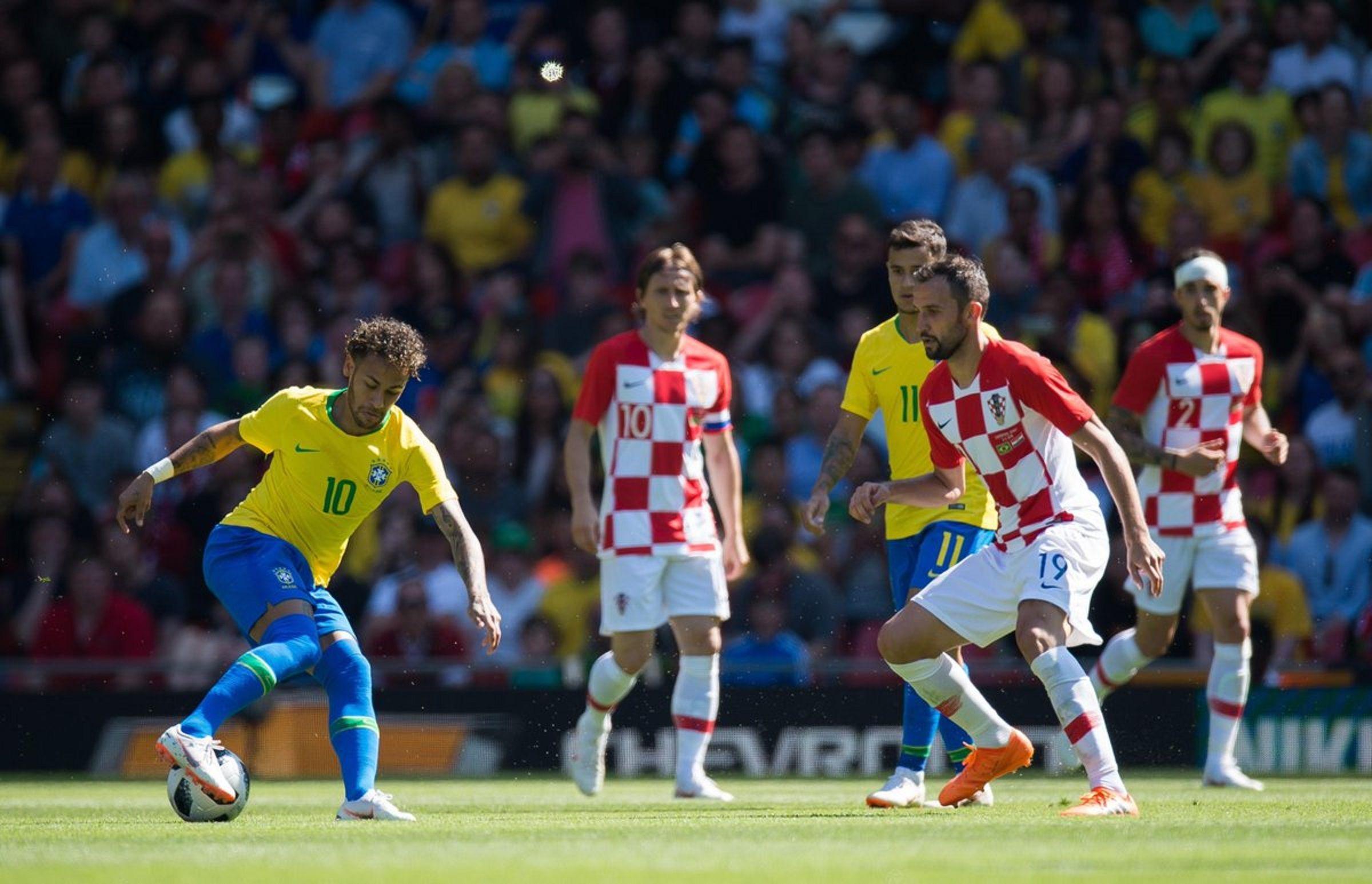¡Volvió a lo grande! Así fue el golazo de Neymar ante Croacia