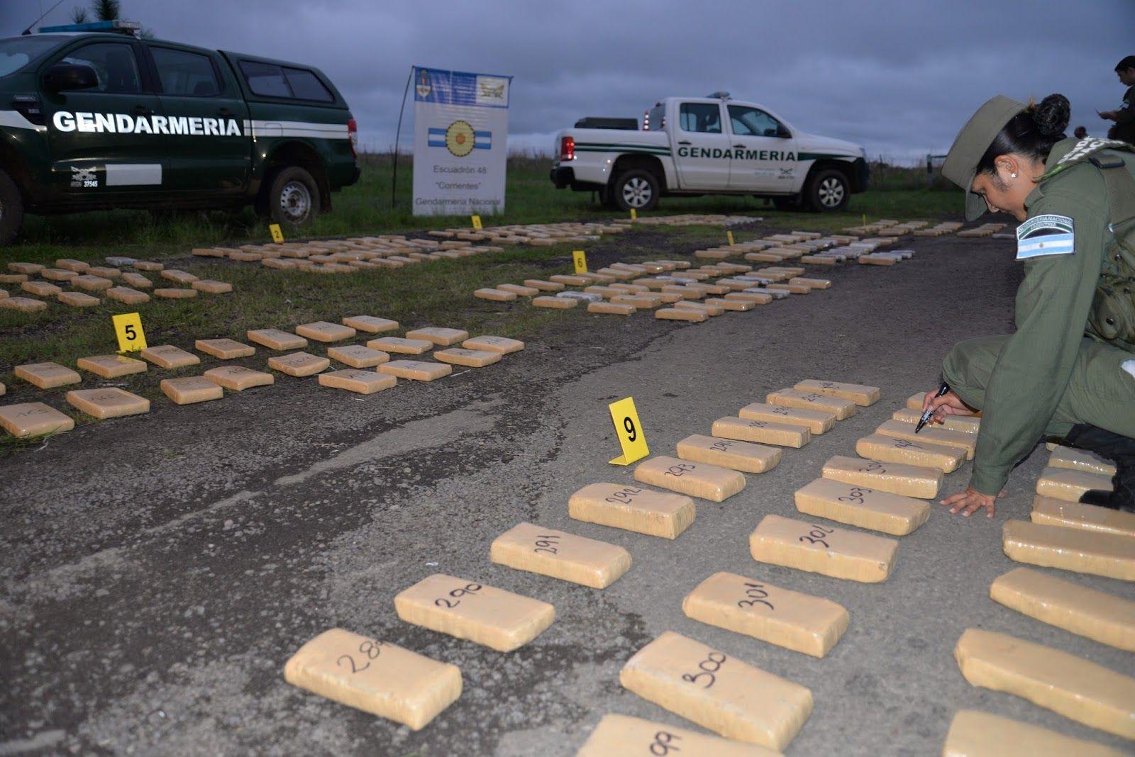 Gendarmería decomisa kilos de marihuana periodicamente en Itatí