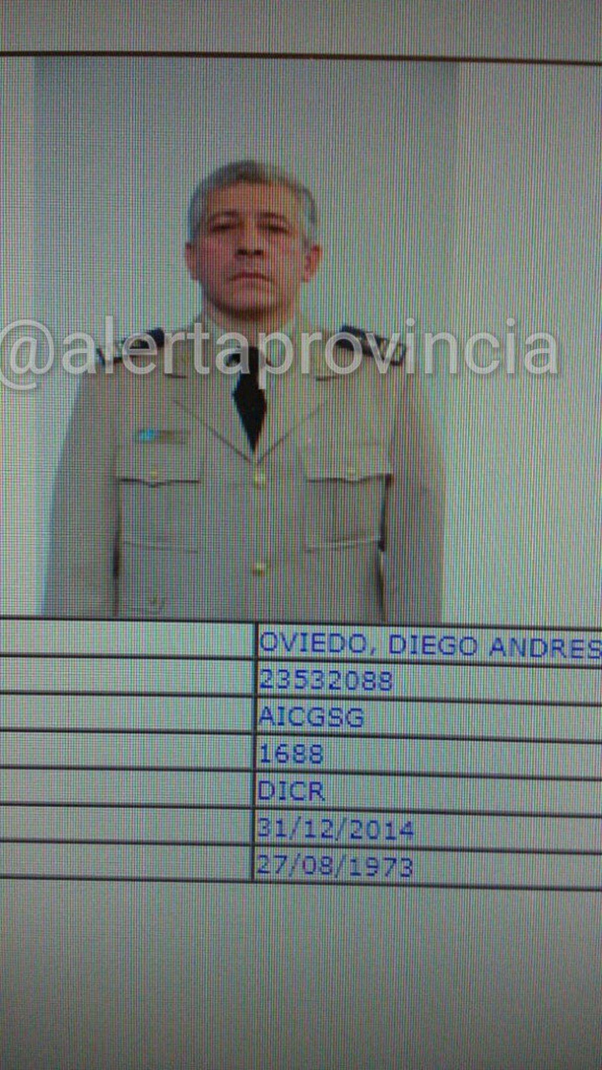 Diego Andrés Oviedo tenía 42 años