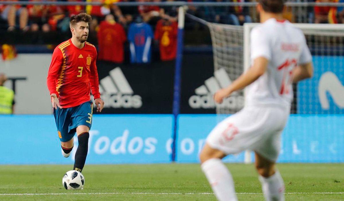 Rusia 2018 fue el último campeonato de Piqué con la selección de España