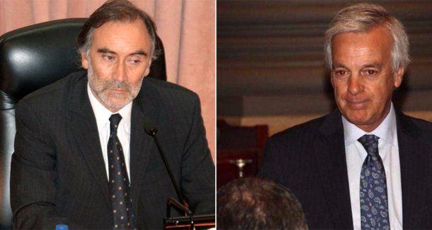 Leopoldo Bruglia y Martín Irurzun, jueces de la Cámara Federal porteña<br>