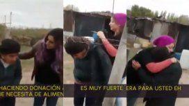 Las Peluqueras solidarias ayudaron a una mujer en Cipolletti
