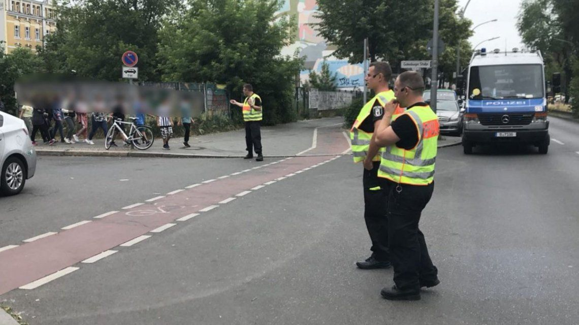 Evacuaron una escuela de Berlín por una situación peligrosa
