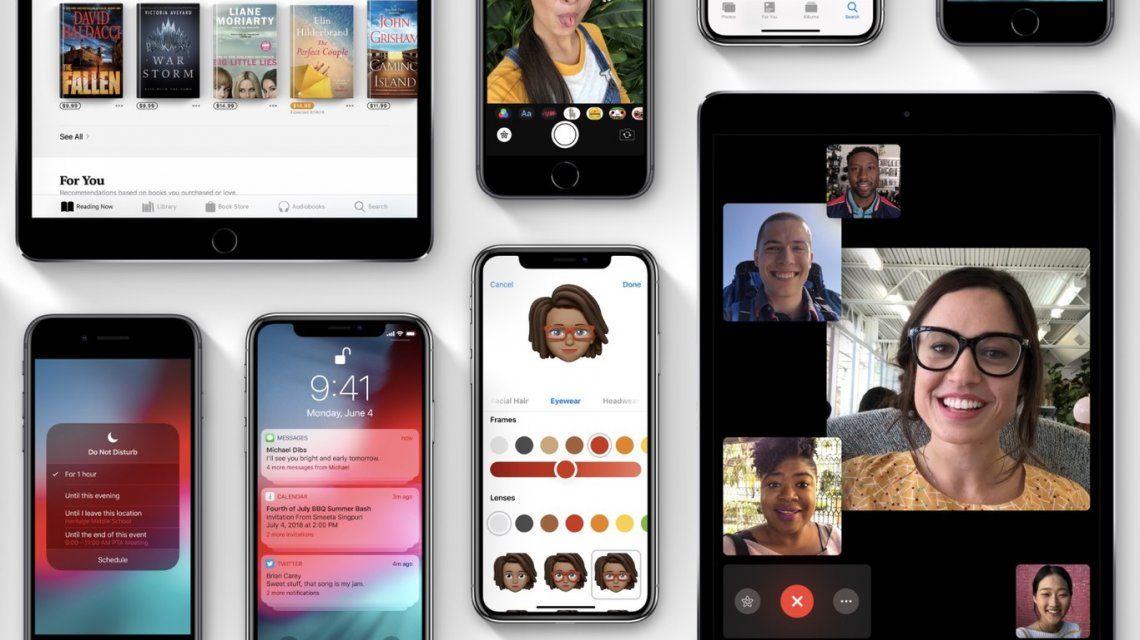 Todas las novedades en iOS 12