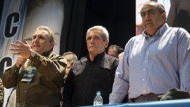 Juan Carlos Schmid, Carlos Acuña y Héctor Daer