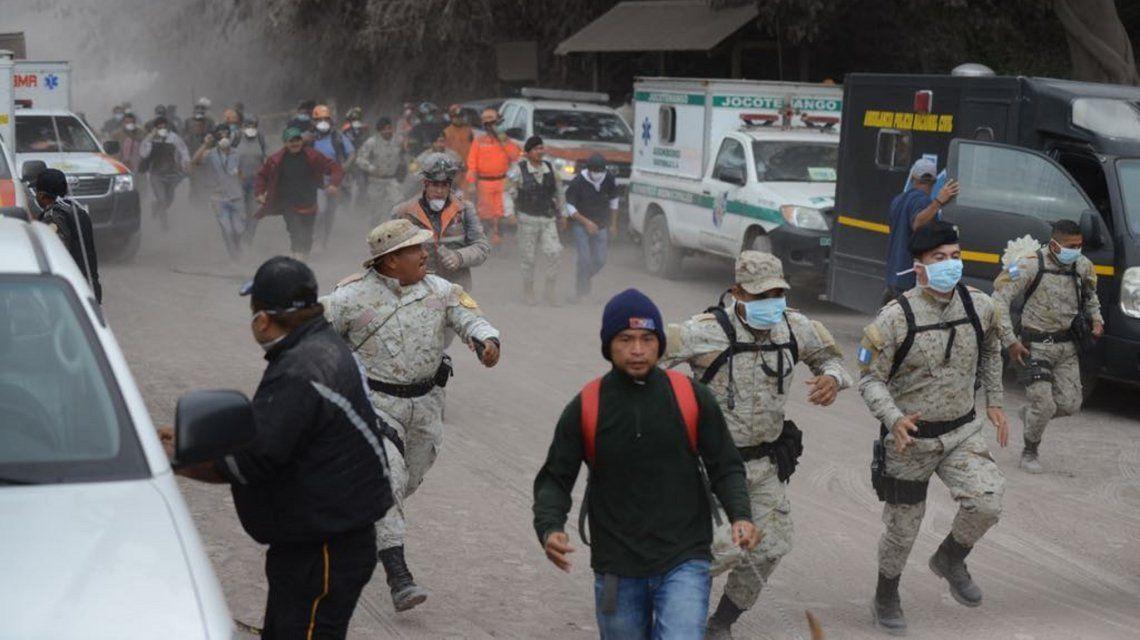 Guatemala: nueva explosión del volcán de Fuego